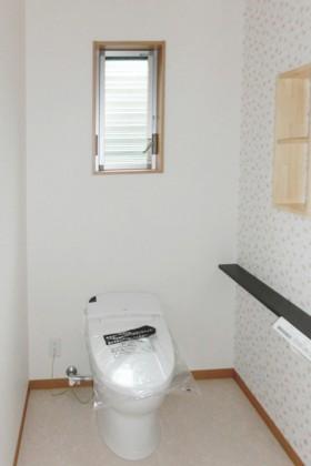 家族が仲良く暮らす家3_トイレ