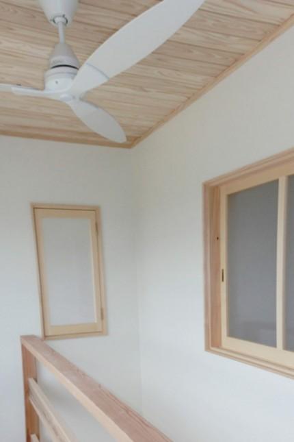 自然素材DEスマートハウス~長期優良住宅~_吹き抜け天井