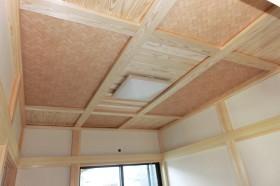 木心地の良い家_和室天井