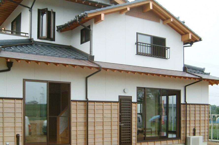本格日本の家_外観