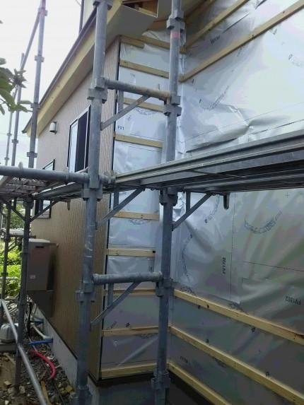 O様邸耐震工事 外壁