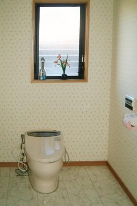 耐震補強の家_トイレ