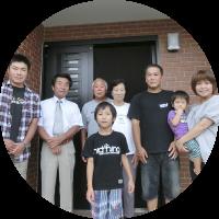 家族が仲良く暮らす家2