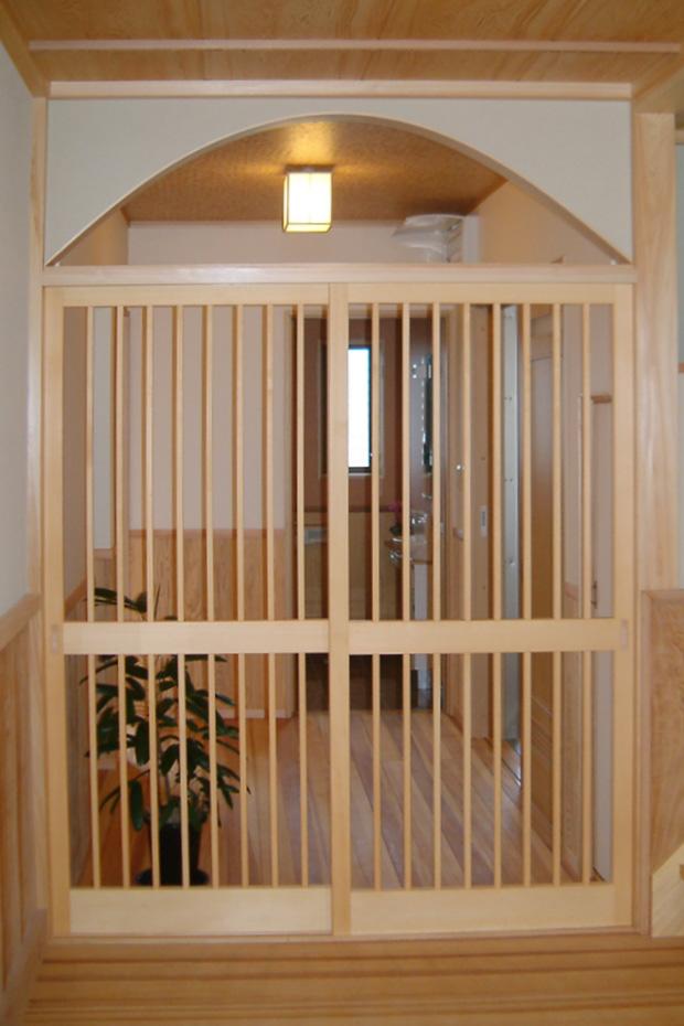 本格日本の家_玄関