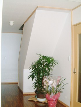 耐震補強の家_玄関ホール完成